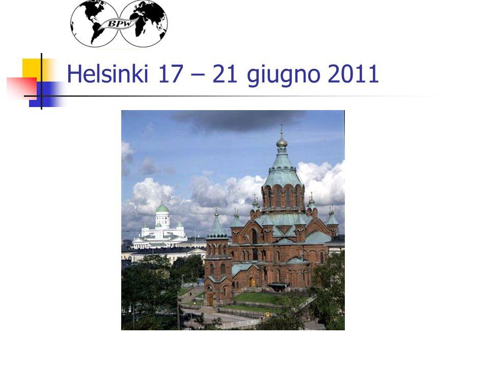 Helsinki 17 – 21 giugno 2011