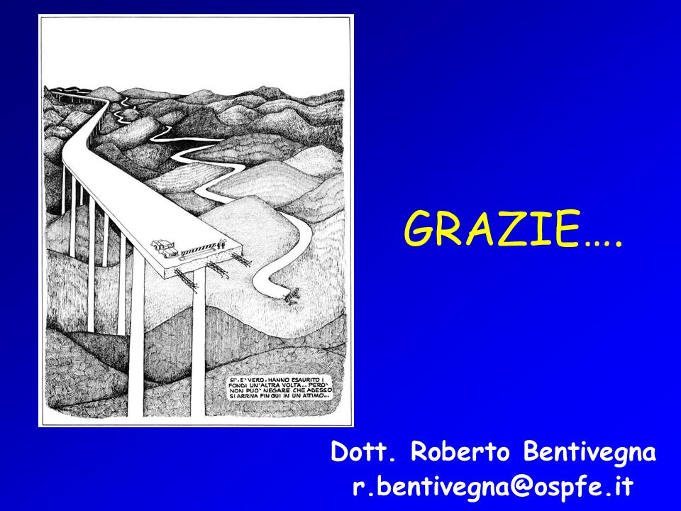 GRAZIE…. Dott. Roberto Bentivegna r.bentivegna@ospfe.it