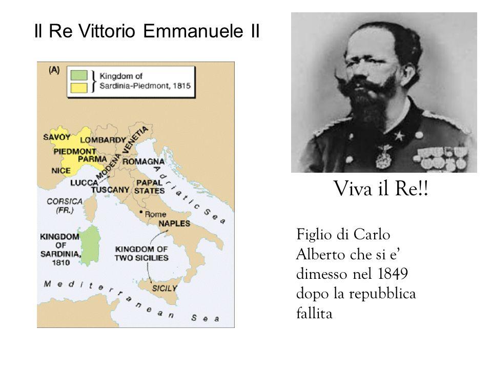 Il Re Vittorio Emmanuele II Figlio di Carlo Alberto che si e dimesso nel 1849 dopo la repubblica fallita Viva il Re!!