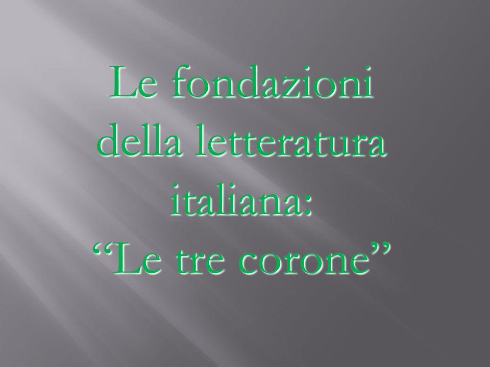 Autore, poeta e umanista rinascimentale di Firenze Scrisse nellitaliano volgare Scrisse una delle opere più importanti nella storia della letteratura: Il Decameron(e)