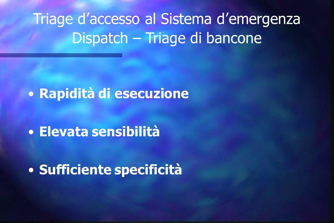 Unità Specialistiche Pronto Soccorso Sistema 118 Trauma Center, Emodinamica, Stroke Unit ecc.