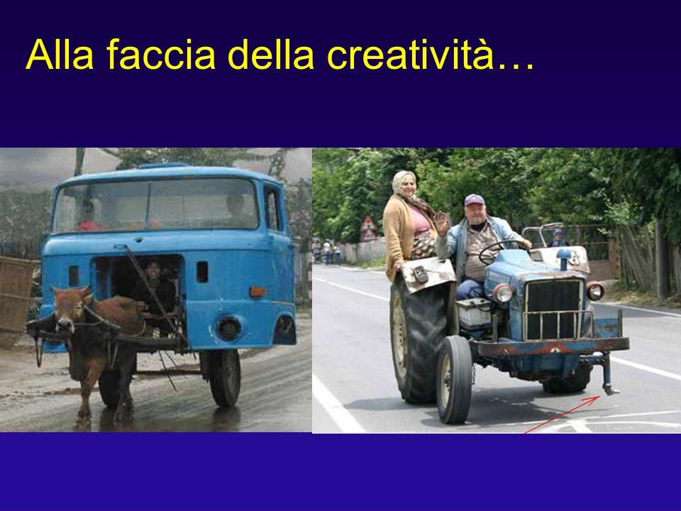 Alla faccia della creatività…