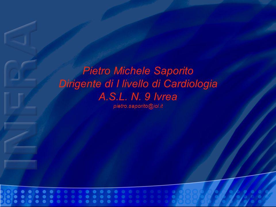 Pietro Michele Saporito Dirigente di I livello di Cardiologia A.S.L.