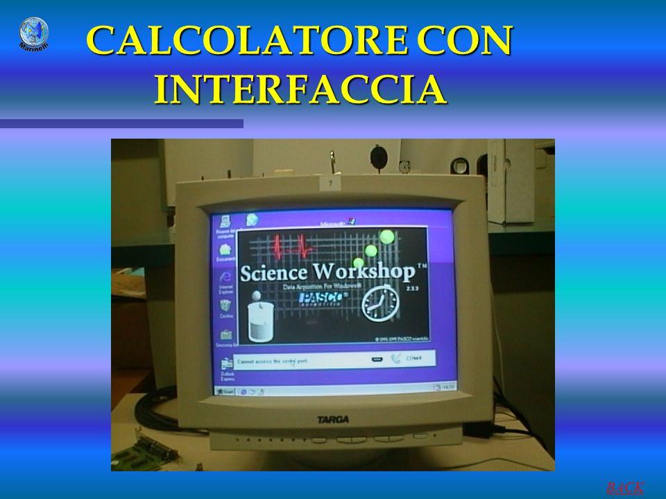 CALCOLATORE CON INTERFACCIA BACK