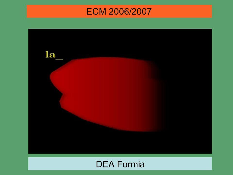 ECM 2006/2007 DEA Formia