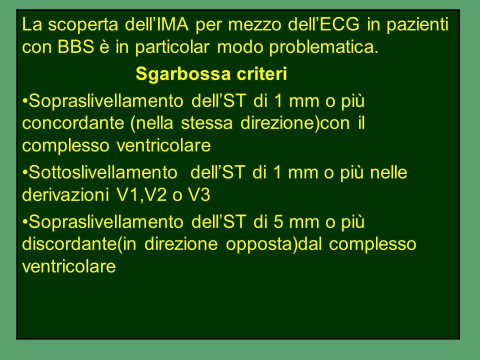 Onde T alte e strette possono essere il primo segni di IMA ST sottoslivellato => di 0,05 mv in presenza di dolore è significativo di episodio ischemic