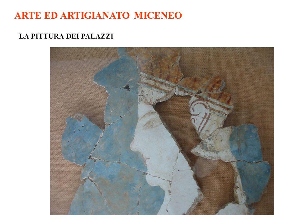 ARTE ED ARTIGIANATO MICENEO LA PITTURA DEI PALAZZI