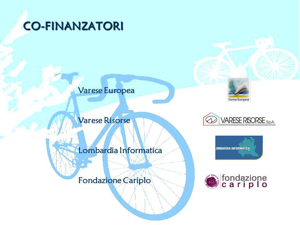 CO-FINANZATORI Varese Europea Varese Risorse Lombardia Informatica Fondazione Cariplo