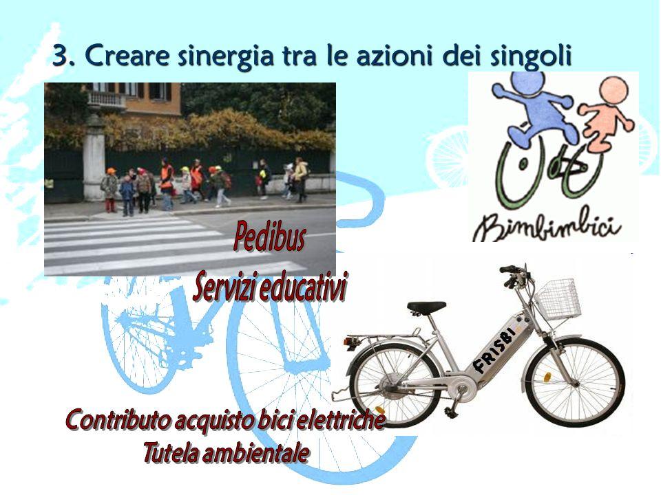 3. Creare sinergia tra le azioni dei singoli