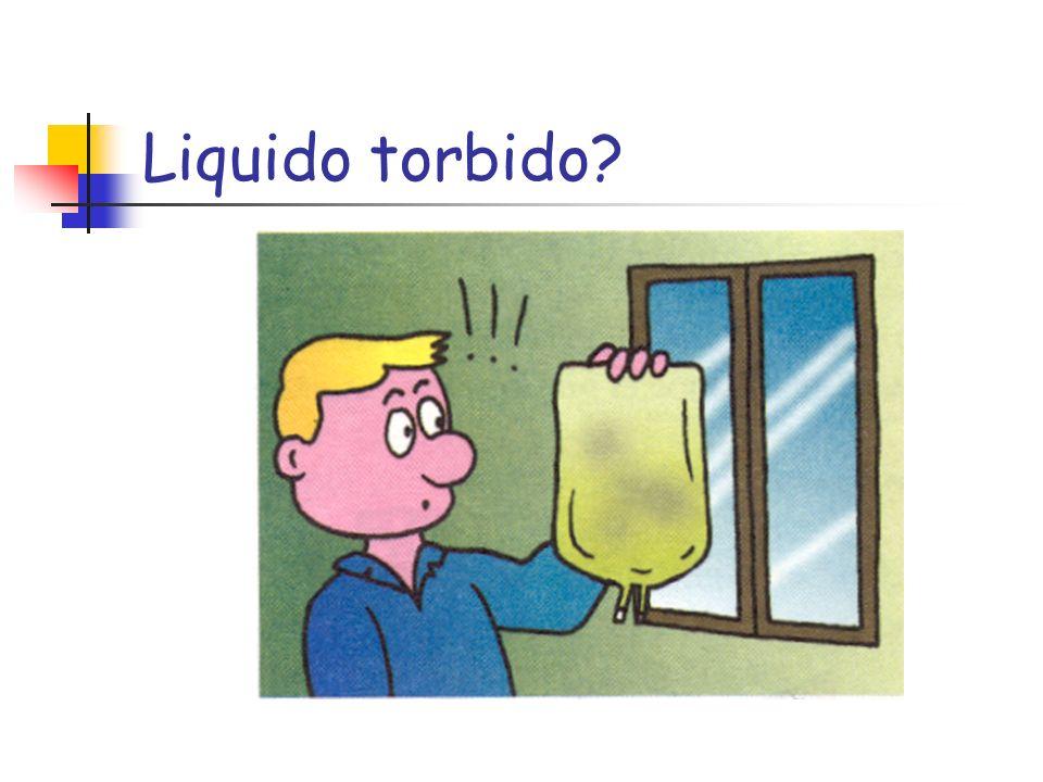 Liquido torbido?