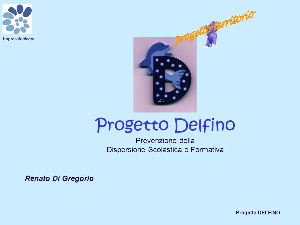 Progetto DELFINO ImpresaInsieme Progetto Delfino Prevenzione della Dispersione Scolastica e Formativa Renato Di Gregorio