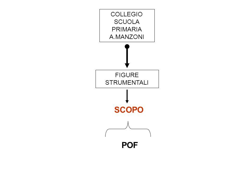 COLLEGIO SCUOLA PRIMARIA A.MANZONI SCOPO POF FIGURE STRUMENTALI