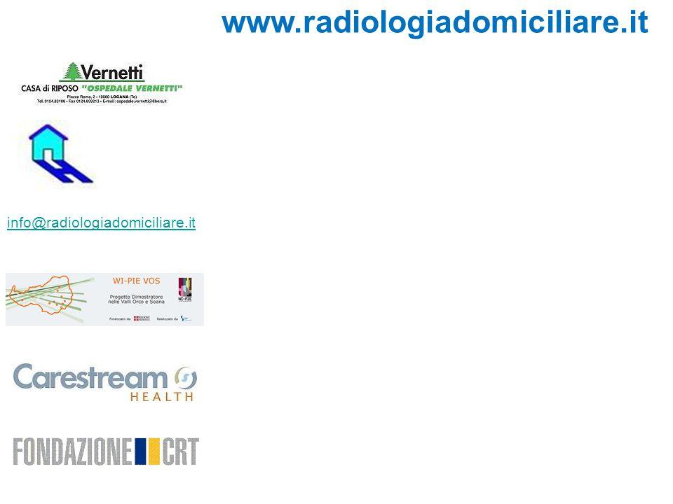 info@radiologiadomiciliare.it www.radiologiadomiciliare.it