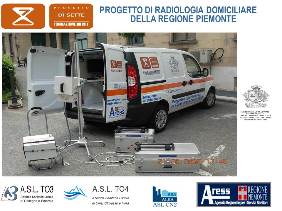 I RISULTATI THE RAD-HOME PROJECT: A PILOT STUDY OF HOME DELIVERY OF RADIOLOGY SERVICES.