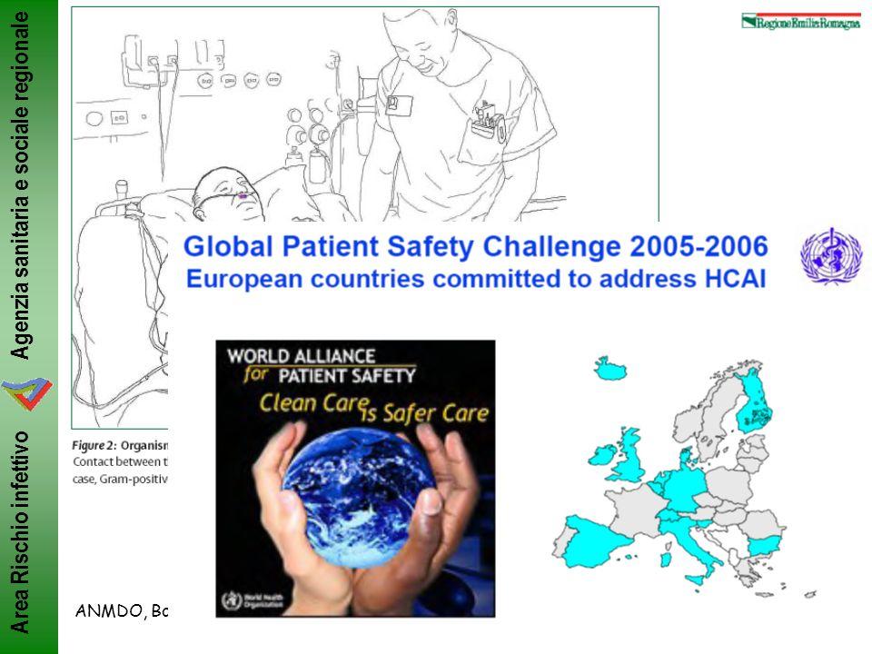 Agenzia sanitaria e sociale regionale Area Rischio infettivo ANMDO, Bologna 8-11/6/2011ML Moro