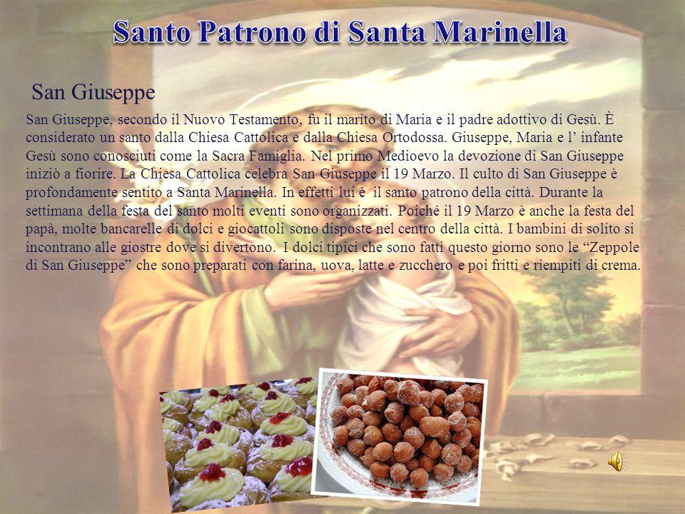 San Giuseppe, secondo il Nuovo Testamento, fu il marito di Maria e il padre adottivo di Gesù. È considerato un santo dalla Chiesa Cattolica e dalla Ch