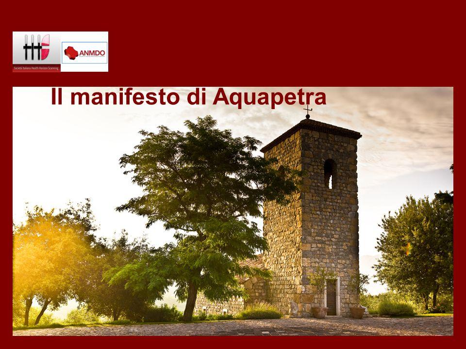 Il manifesto di Aquapetra