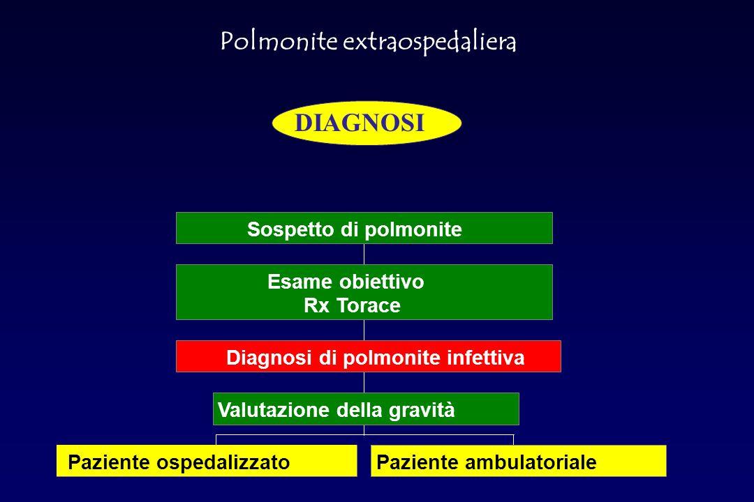 Polmonite da Streptococcus Pneumoniae ANATOMIA PATOLOGICA Risoluzione: i macrofagi determinano colliquazione della componente essudativa.