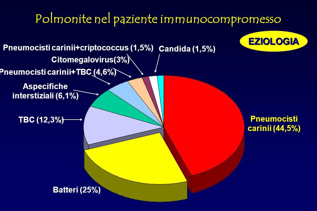 Fattori predisponenti a un aumentato rischio infettivo Malnutrizione RISCHIO INFETTIVO Alterazioni della cute e delle mucose Alterazioni della chemiot