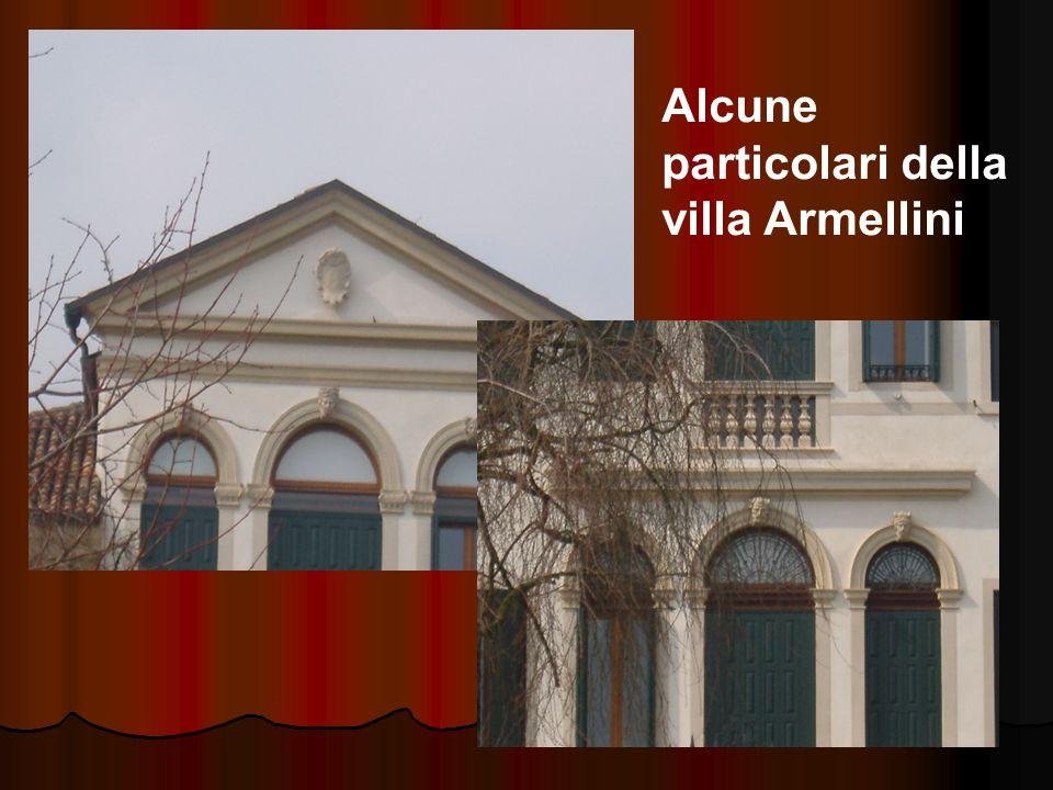 Alcune particolari della villa Armellini