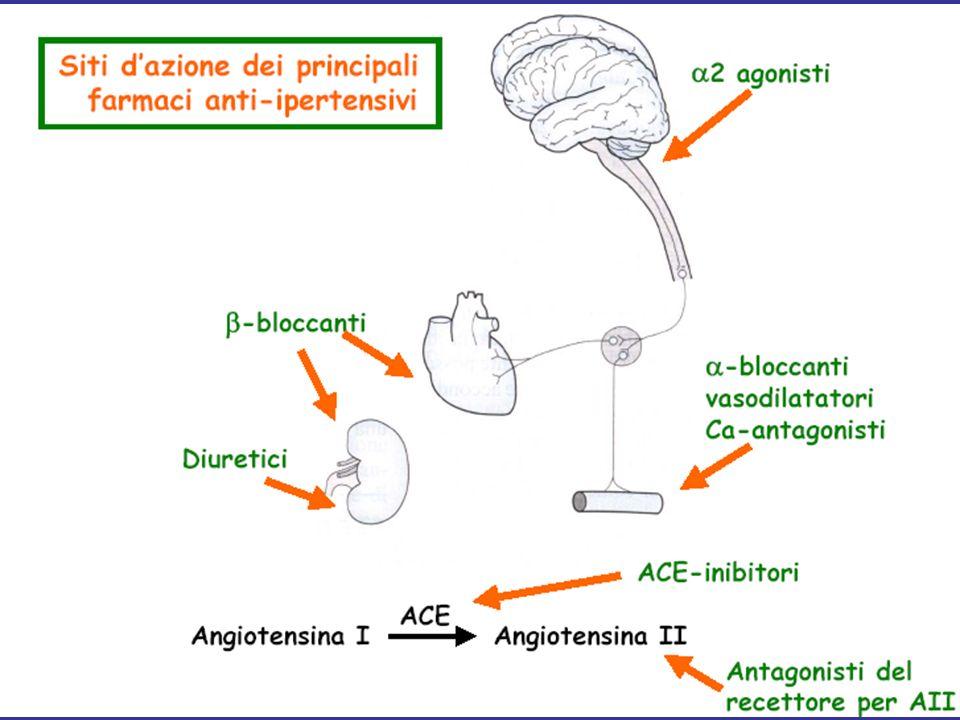 Antagonisti dei recettori per laldosterone Sono antagonisti competitivi del recettore per gli ormoni mineralcorticoidi, che favoriscono il riassorbimento di Na+ ed escrezione di K+ nel tubulo contorto distale e nel dotto collettore