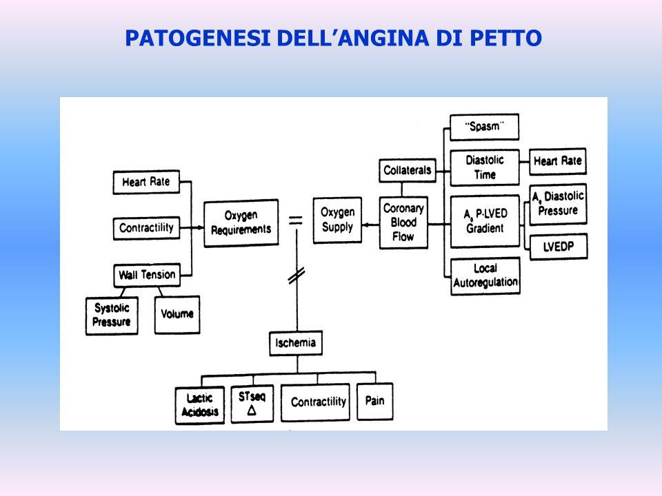 PATOGENESI DELLANGINA DI PETTO