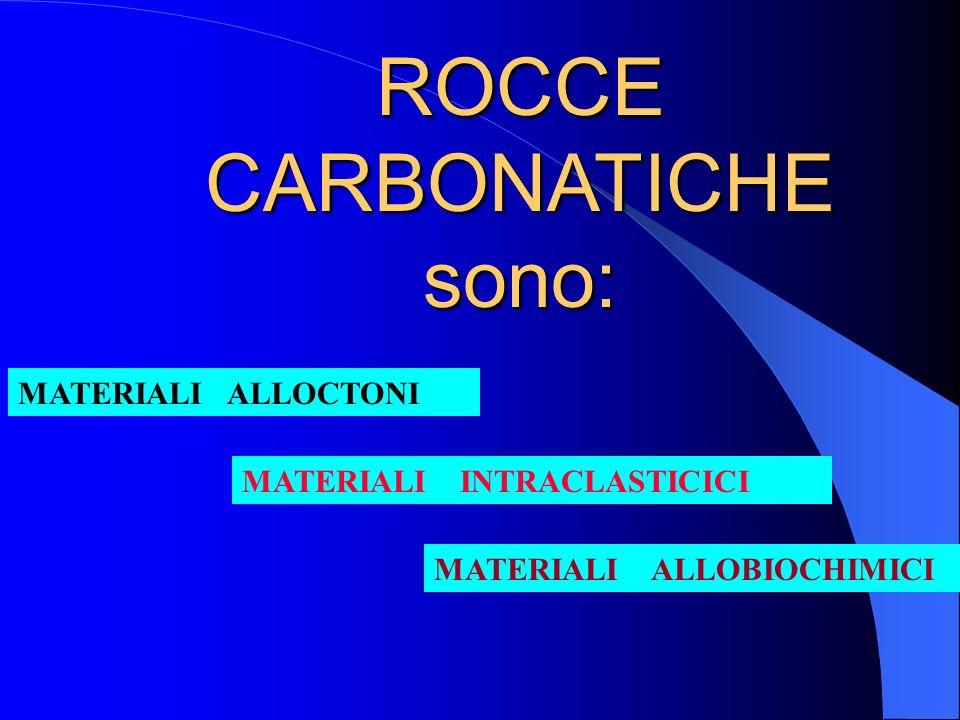 Possibili combinazioni dei materiali pelitici (lutiti) e loro nomenclatura; in A ) figurano, oltre ai materiali terrigeni, anche i carbonati. B) Il di