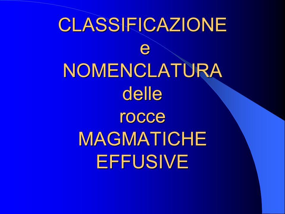 Classificazione delle rocce ultrafemiche [M > 90%] Ol = olivina; Opx = pirosseno rombico; Cpx = pirosseno monoclino; Px = pirosseni; Hbl = orneblenda
