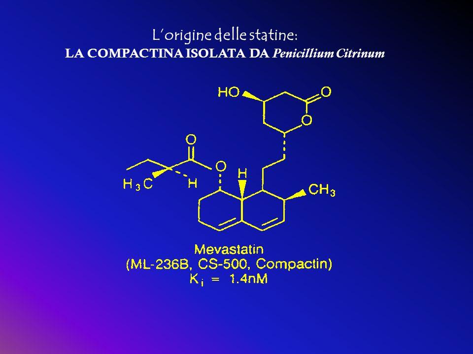 Lorigine delle statine: LA COMPACTINA ISOLATA DA Penicillium Citrinum