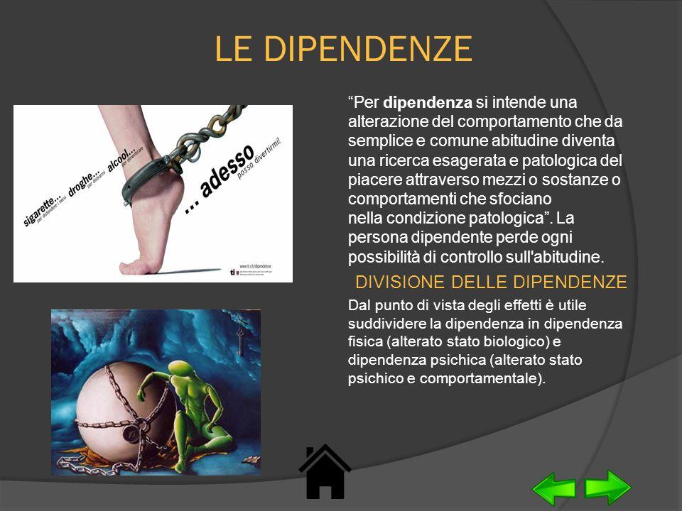La dipendenza fisica, prodotta essenzialmente dai condizionamenti neurobiologici, è superabile con relativa facilità; la dipendenza psichica richiede interventi terapeutici lenti e complessi, coinvolgendo spesso i familiari che stanno attorno al dipendente.