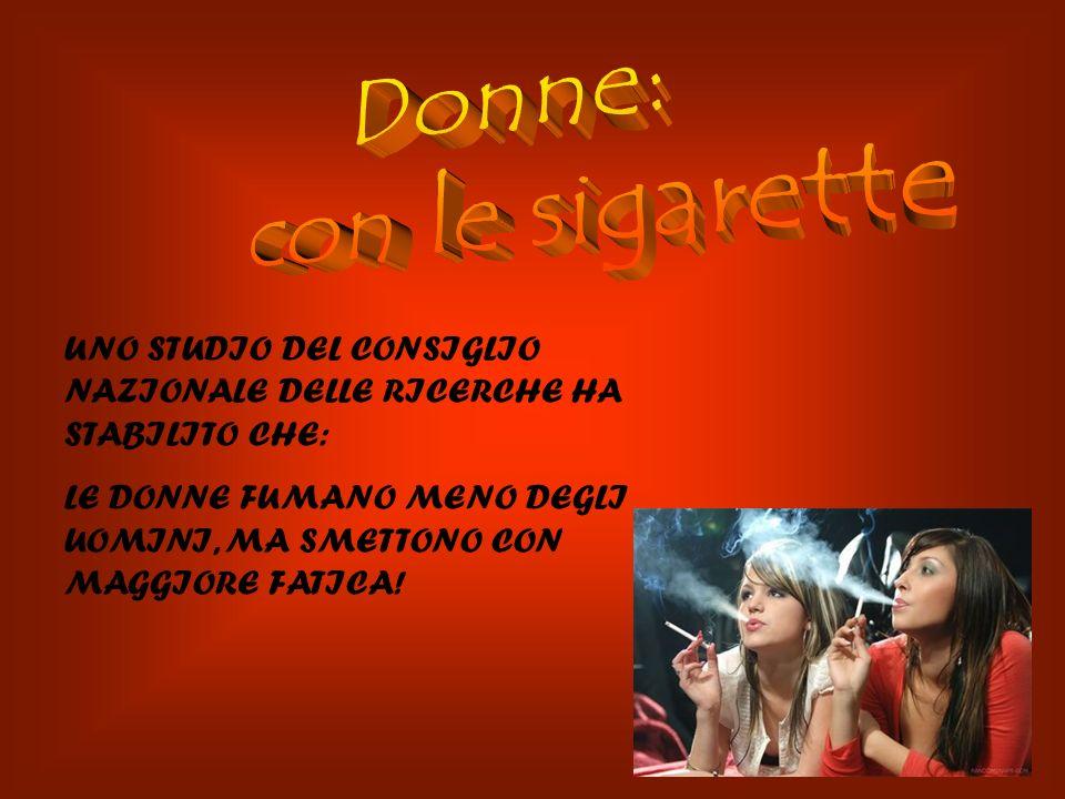Si inizia a fumare nelladolescenza e in età giovanile: il 44,8% dei fumatori ha iniziato a fumare tra i 14 e i 17 anni. Si riscontrano differenze lega