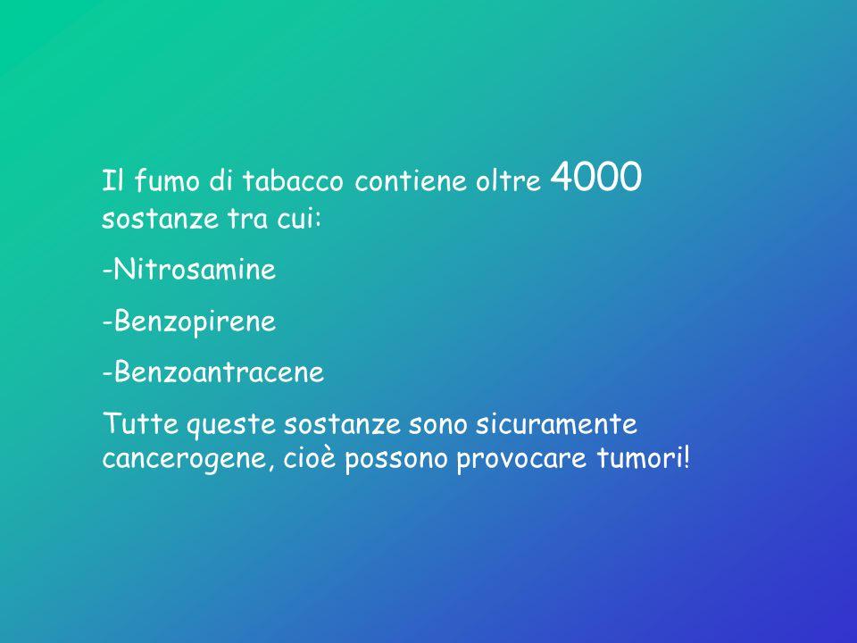 CATRAME AGENTI OSSIDANTI MONOSSIDO DI CARBONIO NICOTINA TUMORI B.P.C.O MALATTIE CARDIOVASCOLARI