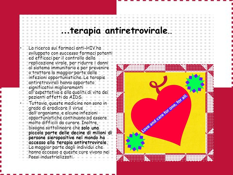 … terapia antiretrovirale..