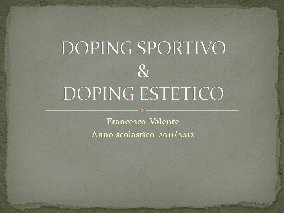Il doping, che sia esso estetico o sportivo, provoca in chi lo assume un cambiamento; infatti queste sostanze servono a migliorare, ed in un certo senso anche a cambiare, le abilità e le caratteristiche fisiche delle persone che ne fanno uso.