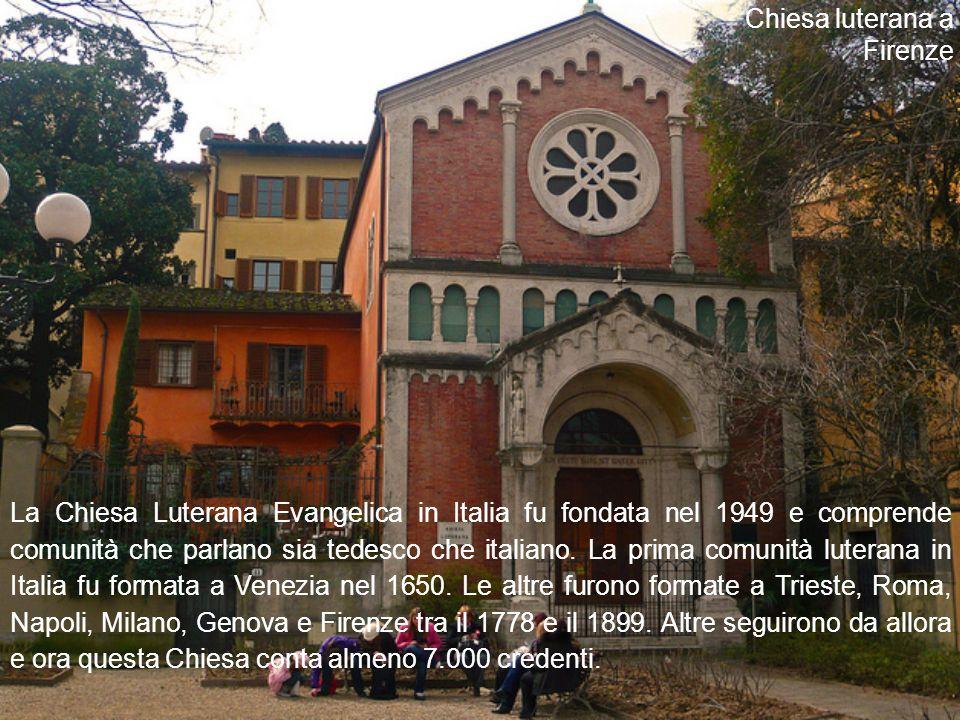 La Chiesa Luterana Evangelica in Italia fu fondata nel 1949 e comprende comunità che parlano sia tedesco che italiano.