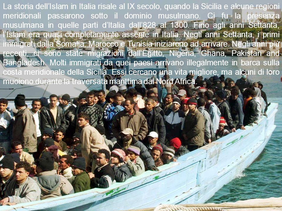 La storia dellIslam in Italia risale al IX secolo, quando la Sicilia e alcune regioni meridionali passarono sotto il dominio musulmano.