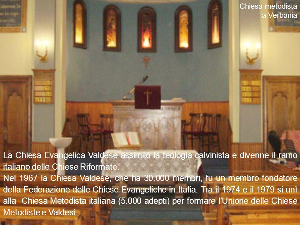 La Chiesa Evangelica Valdese assimilò la teologia calvinista e divenne il ramo italiano delle Chiese Riformate.