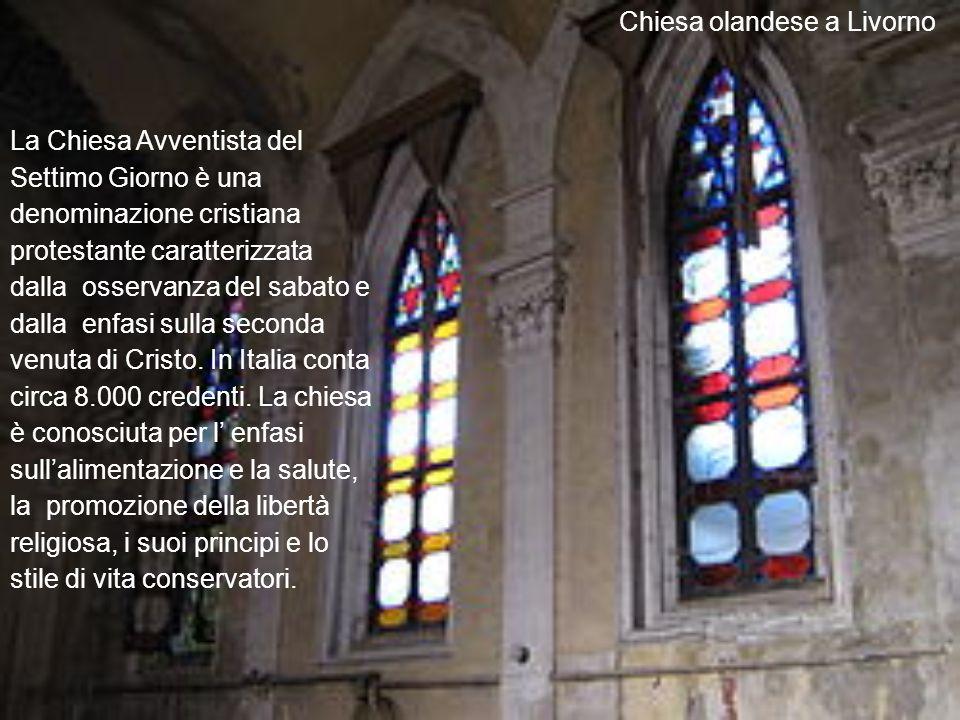 La Chiesa Avventista del Settimo Giorno è una denominazione cristiana protestante caratterizzata dalla osservanza del sabato e dalla enfasi sulla seconda venuta di Cristo.
