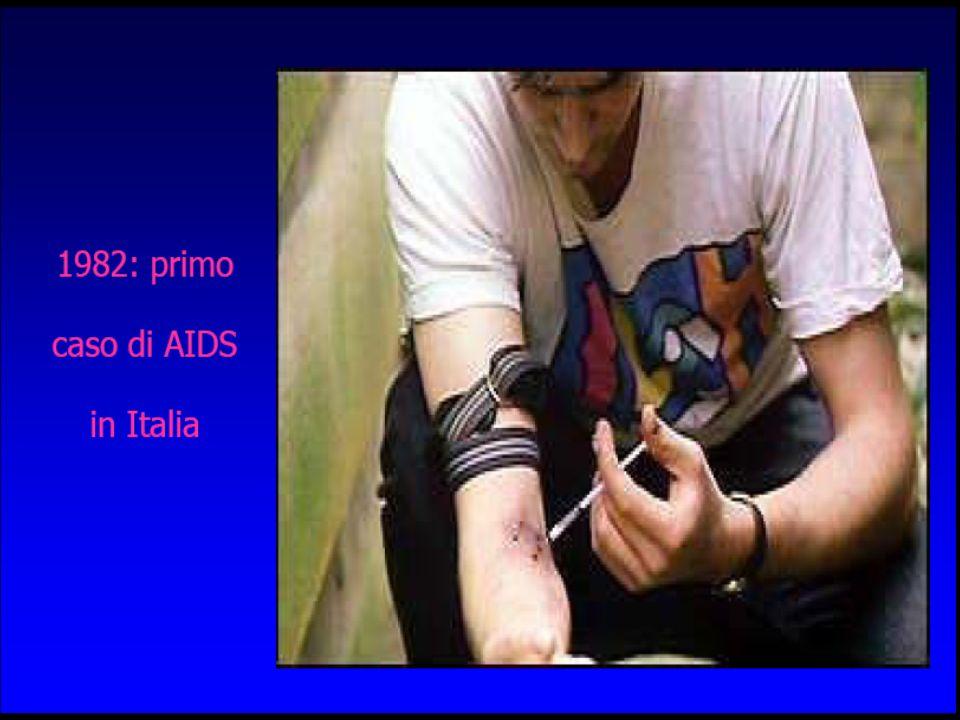 Concentrazione dellHIV in diversi liquidi biologici Sangue 100 % Liquido seminale 75 % Secreto vaginale 50 % SalivaUrineSudoreLacrime < 1 %