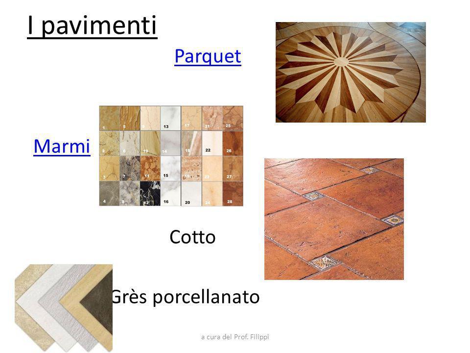 I pavimenti Parquet Marmi Cotto Grès porcellanato a cura del Prof. Filippi