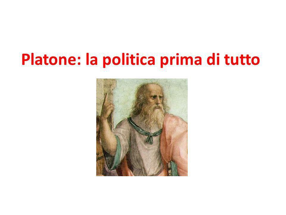 Platone: la politica prima di tutto