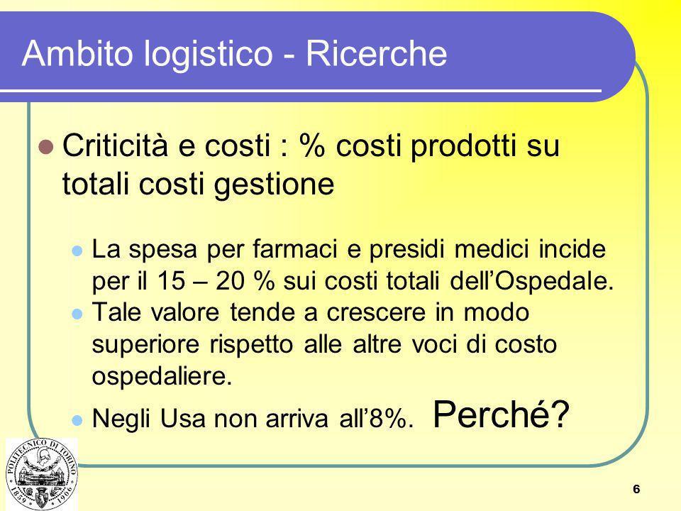 7 Reti logistiche © Rafele and Sgherzi, 2010