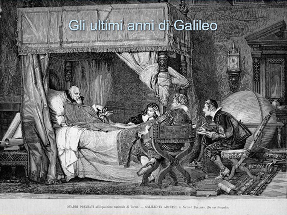 Gli ultimi anni di Galileo