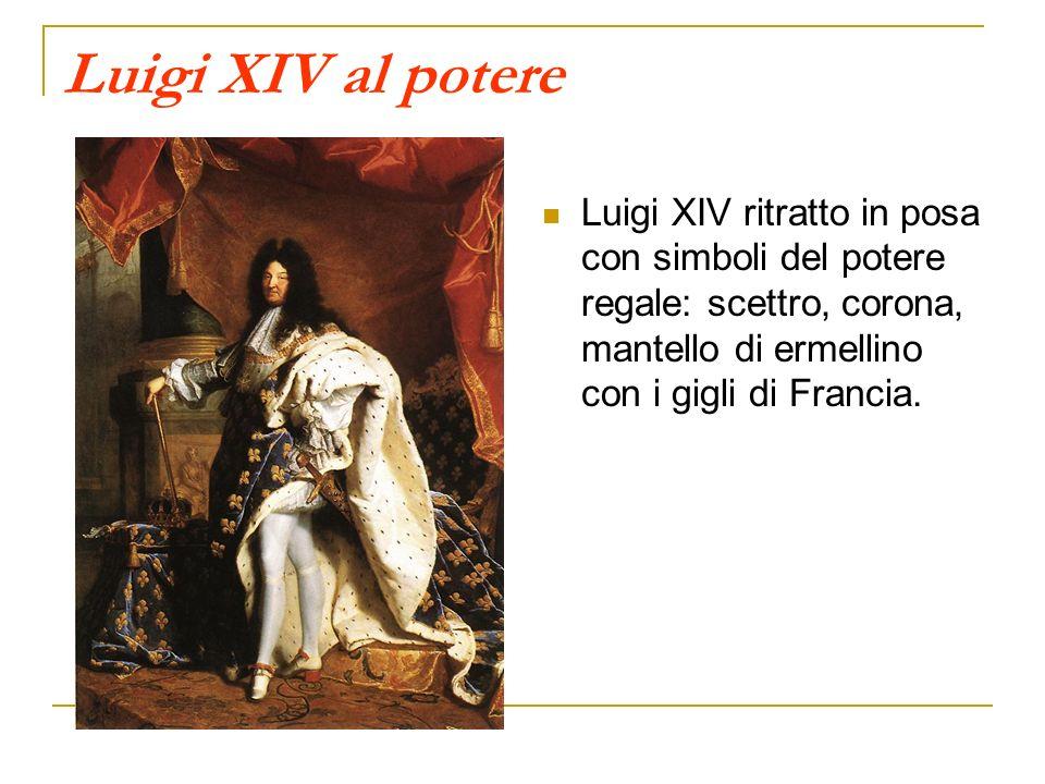 «PORRE FRENO AL DISORDINE, TERRORIZZARE I GRANDI» «Oggi nessuno storico crede più che Luigi XIV abbia veramente pronunciate le paroleLo Stato sono io; ma tale era lidea che di lui si facevano i suoi più acerrimi nemici» (Clark) Luigi XIV: esercito e burocrazia