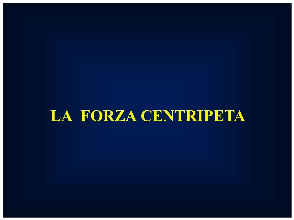 LA FORZA CENTRIPETA