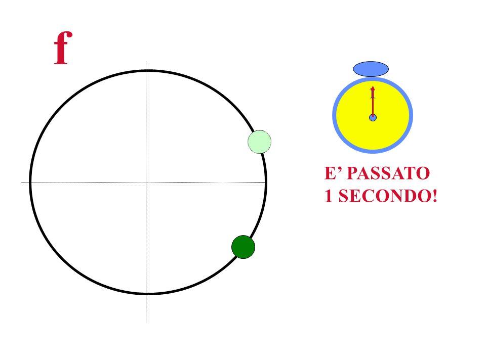 f E PASSATO 1 SECONDO! 1