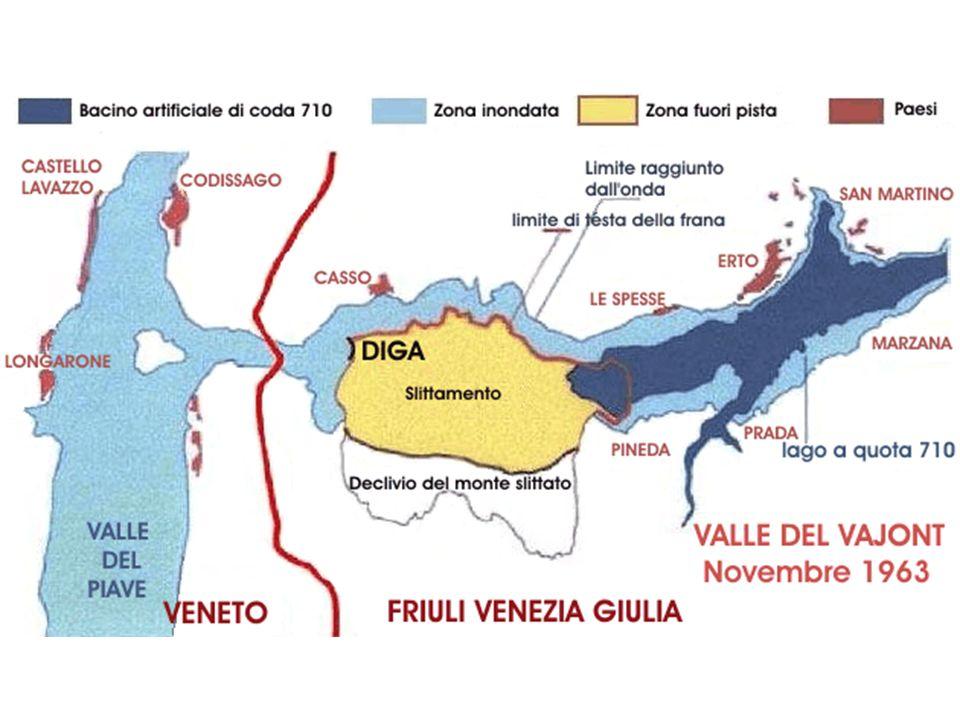 GEOMORFOLOGIA Le rocce che costituiscono larea della valle del Vajont e quella del Monte Toc risalgono a circa 165 milioni di anni orsono.