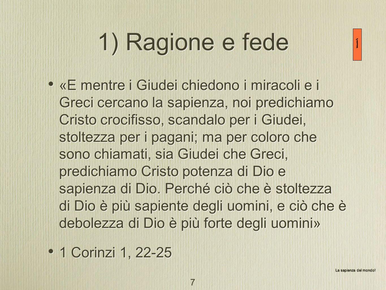 Ragione e fede Tertulliano (160-240): Credo quia absurdum Agostino (354-430): Capisci per credere / Credi per capire Dialettici (XI sec.): cercano di sottoporre la fede agli strumenti della ragione Pier Damiani (1007-1072): dallonnipotenza divina deriva la supremazia assoluta della fede Tertulliano (160-240): Credo quia absurdum Agostino (354-430): Capisci per credere / Credi per capire Dialettici (XI sec.): cercano di sottoporre la fede agli strumenti della ragione Pier Damiani (1007-1072): dallonnipotenza divina deriva la supremazia assoluta della fede 2 8