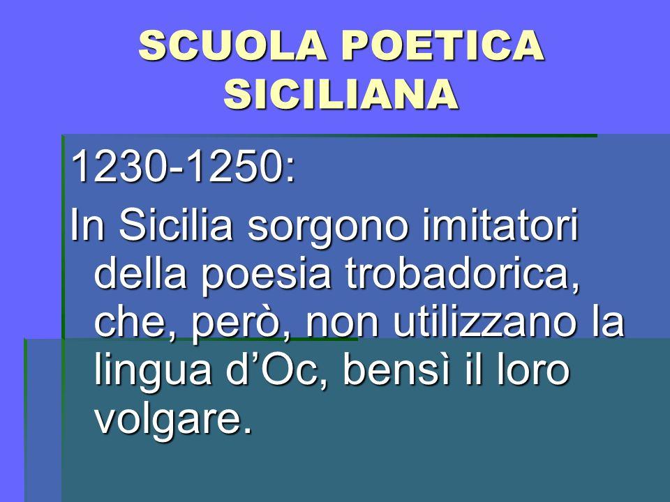 Il SONETTO sonet (Provenzale) sonet (Provenzale) componimento poetico accompagnato dalla musica.