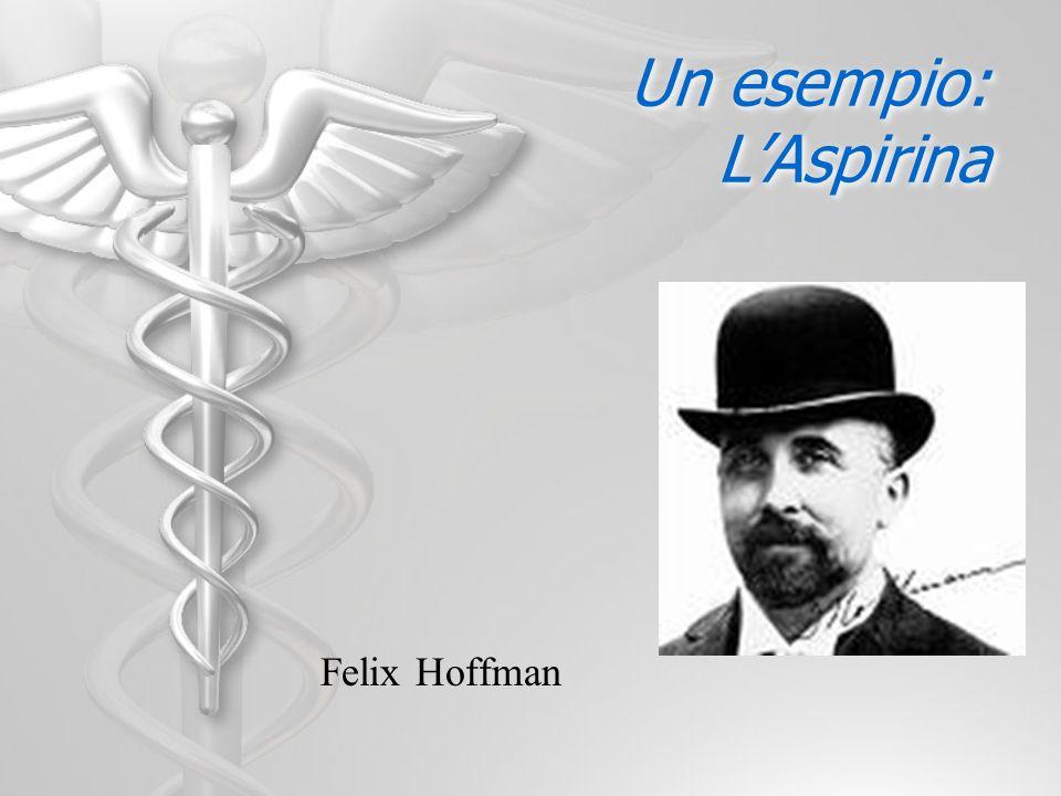 Un esempio: LAspirina Felix Hoffman